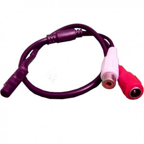 Мини микрофон для видеонаблюдения