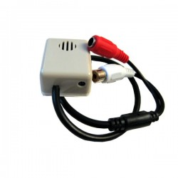 Микрофон для видеонаблюдения, видеорегистратора камер CCTV с тонкой подстройкой.