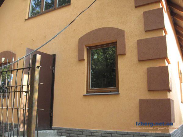 Для отделки фасада дома керамогранитом